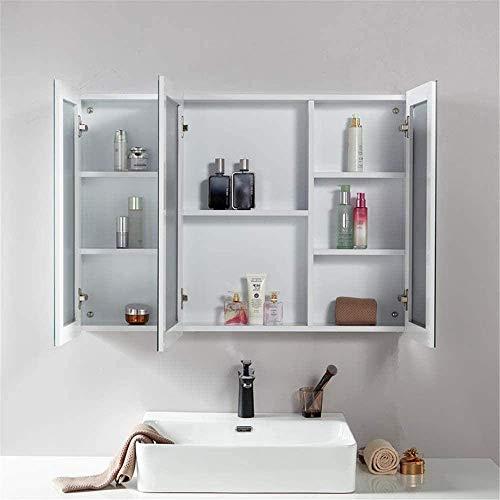 Gabinete de baño de Tablero de Roca Simple Cabinete Combinado de Espejo...