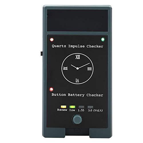 BTIHCEUOT Batterietester Checker, Electric Quartz Movement Uhr Batterietester Checker für die Reparatur der Uhr