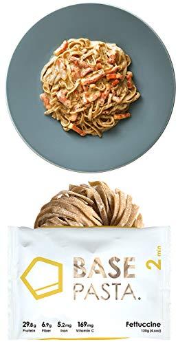 BASE PASTA ベースパスタ フェットチーネ 完全食 完全栄養食 お試しソース(ボロネーゼ)1食付