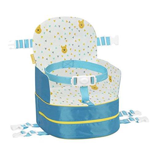 Badabulle Sitzerhöhung & Rucksack Winnie 10cm, blau