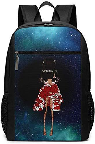 BAGGNICE Rucksäcke Daypacks Taschen, Rihanna Bad Girl RiRi Boys,Girls,Youth Women Men Fashionable Backpack