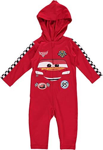 Disney Cars Toddler Boys Lightning McQueen Costume Coverall 2T Red