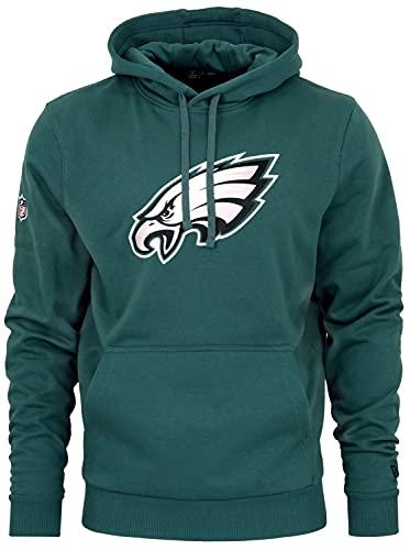 New Era - NFL Philadelphia Eagles Team Logo Hoodie - Petrol Grün Größe 4XL, Farbe Petrol Grün