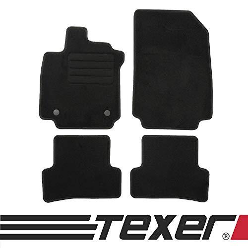 TEXER Textil Fußmatten Passend für Renault Clio IV Bj. 2012- Basic
