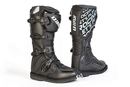 Imx Botas de motocicleta de motocross todoterreno X-One Materiales de TPU y TPR duraderos Microfabricado Malla 3D Plantillas anti-vibraciones Cuatro niveles de abrazaderas Certificación CE
