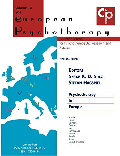 European Psychotherapy 2011: Psychotherapy in Europe