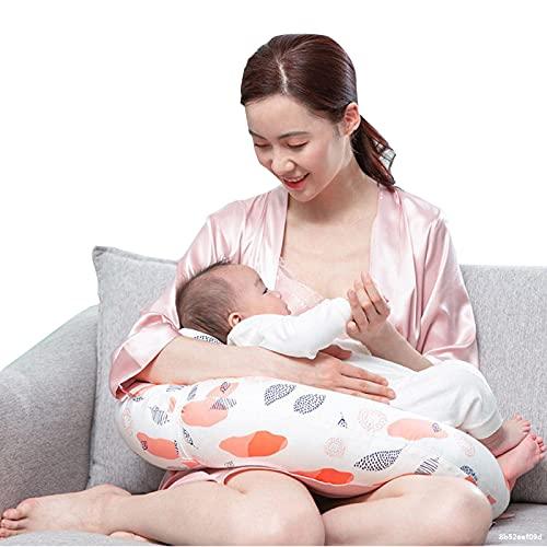 quwewn Almohada De Lactancia De Algodón Perlado Almohada De Cintura Cintura Ajustable Almohada De Maternidad En Forma De U Almohada Corporal para Adultos