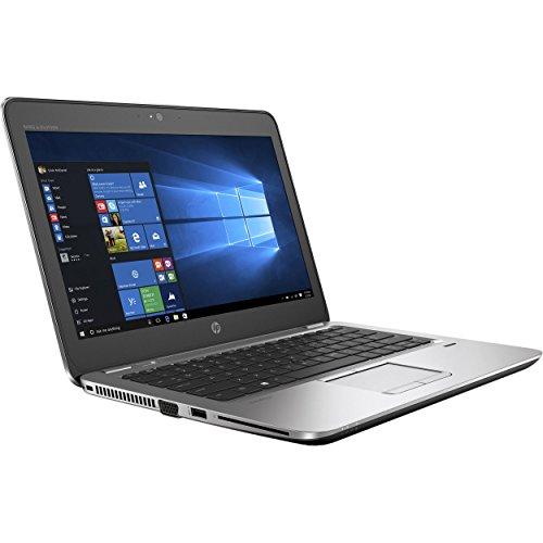 HP EliteBook 820 G3 Business Laptop - 12.5' Anti-Glare HD (1366x768), Intel Core i5-6200U, 256GB SSD, 8GB DDR4, NFC, Back-Lit Keyboard, WiFi-AC + Bluetooth, Fingerprint Reader, Webcam, Windows 10 Pro