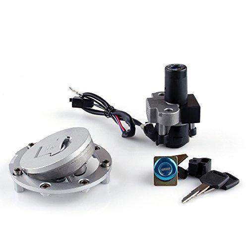 Bruce & Shark Zündschloss Schloss & Fuel Gas Cap Key Set Für Hon-da CBR 250 400 VFR400 NSR250