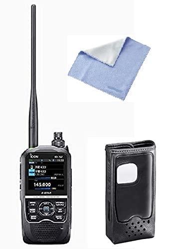 ID-52 144/430Mhzハンディータイプアマチュア無線機 LC-193ソフトケースセット オリジナルクロスサービス