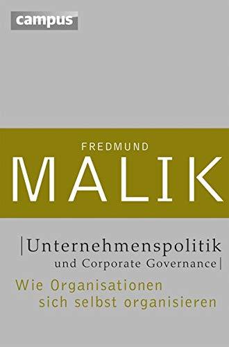 Unternehmenspolitik und Corporate Governance: Wie Organisationen sich selbst organisieren (Management: Komplexität meistern (Malik), 2)