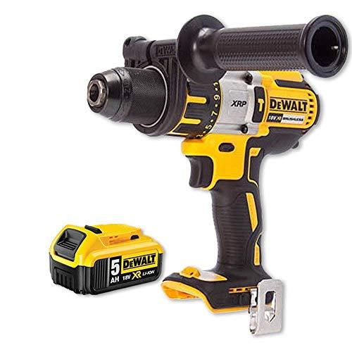 DeWalt DCD996N 18v XRP Brushless Hammer Combi Drill with 1 x DCB184 5Ah Battery