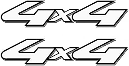 Vinylmark LLC Replacement 4x4 Off Road Decals (Black) - 2001 to 2008 Fits Ford Truck Bed