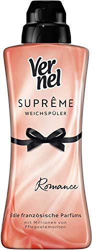 Vernel Suprême Romance Weichspüler, 24 Waschladungen, für einen langanhaltenden Duft