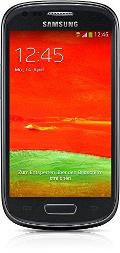 Samsung Galaxy S3 mini (GT-I8200) Smartphone (10,2 cm (4 Zoll) Touchscreen, 5 Megapixel Kamera, 8GB Speicher, microSDHC-Kartenslot, Android 4.2) -  Schwarz [EU-Version]