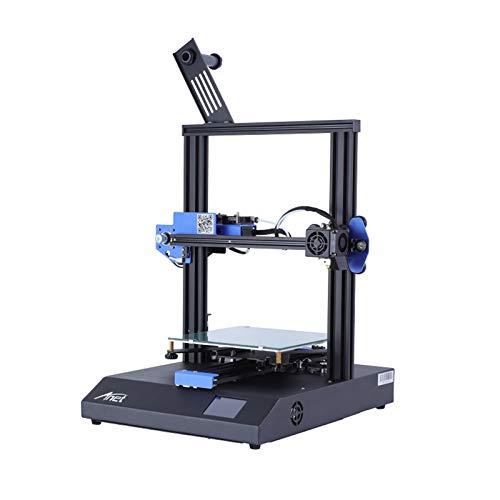 XIONGGG ET4X DIY 3D Printer, 2.8 Inch Touch Screen, All Metal Frame, Resume Printing, Online & Offline Print, 220X220x250mm