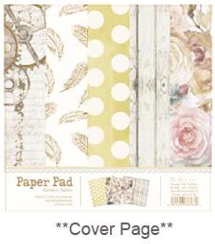 6 inch papier pad voor decoupage diy bloem decoratieve papieren metallic goud scrapbooking papieren ambachtelijke papieren, type c