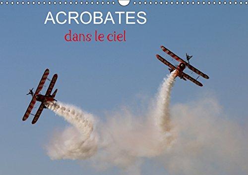 Acrobates dans le ciel (Calendrier mural 2018 DIN A3 horizontal): Les Breitling wingwalkers (marcheuses sur les ailes) en évolution (Calendrier mensuel, 14 Pages ) (Calvendo Sportif)