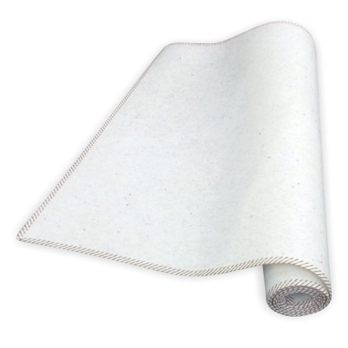 "Matratzen Perfekt"" Schützende Matratzen-Unterlage, atmungsaktiver Matratzen-Schoner, Filzschoner, unter die Matratze, Matratzenschutz (100x200 cm)"