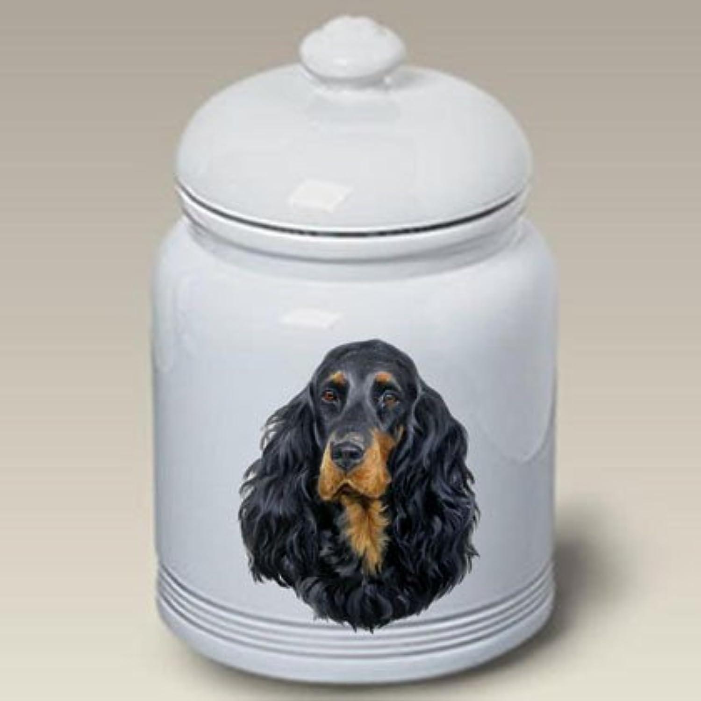 Best of Breed Gordon Setter  Linda Picken Treat Jar