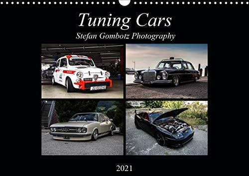 Tuning CarsAT-Version (Wandkalender 2021 DIN A3 quer)