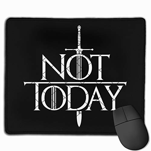 Game of Thrones Mouse Pad with Stitched Edge Non-Slip Rubber Base for Gaming, Office & Home 25x30cm