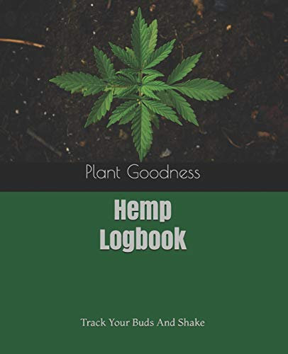 Hemp Logbook: Track Your Buds And Shake