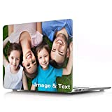 Design Your Own MacBook Air 13 inch Case Model A2337 M1 A2179 A1932 (Release 2018-2020) Custom Personalized Photo Transparent Hard case Crystal Clear Hard Shell Cover for Version MacBook Air 13 inch