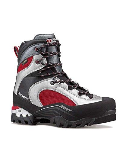 Dolomite Cougar Guide GTX Chaussures de randonnée pour homme - Rouge - Argenté/rouge, 9 UK