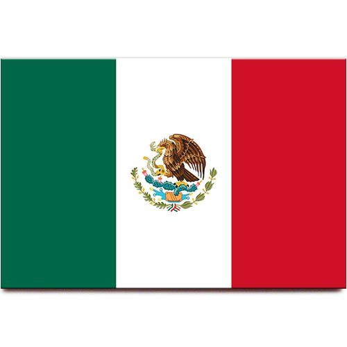 Mexiko-Flagge Kühlschrankmagnet Guadalajara Monterrey Puebla Reise-Souvenir