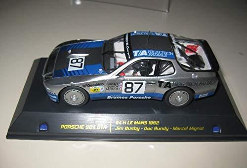 EXIN, FLY CAR MODELS SCALEXTRIC Falcon Slot Porsche 924 GTR BRUMOS DE LE Mans 1982