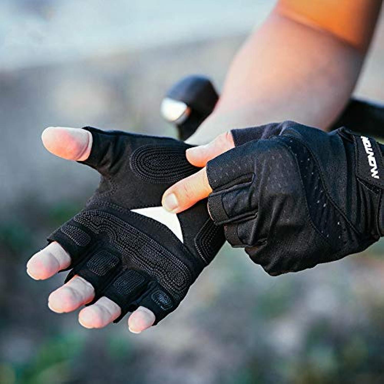 Lili Atmungsaktive Rutschfeste Halbfingerhandschuhe für den Frühling und Sommer Mountainbikes für Mnner und Frauen