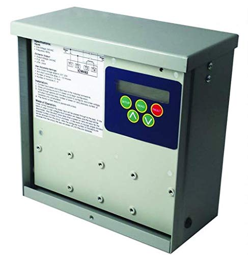 ICM ICM493 Advanced Single-Phase line Voltage Monitor with a Bank of Surge arresters for Added Protection Against Lightning Strikes. Includes a Built-in 40A contactor. Ideal for Mini-Splits or Other