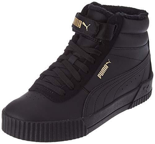 PUMA Damen Carina Mid WTR Sneaker, Black Black, 39 EU