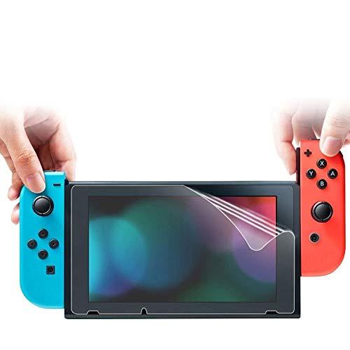 Alecony HD Displayschutzfolie Glas Kompatibel mit Nintendo Switch, Premium Glassschutzfolien, Anti-Bläschen Ultraklare Transparente Folie Schutzfolie Bildschirmschoner (1 Stück)