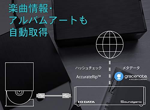 I-ODATAネットワークオーディオサーバー2TB/USB-DAC/ハイレゾ/CDリッピング対応SoundgenicHDL-RA2HF/E