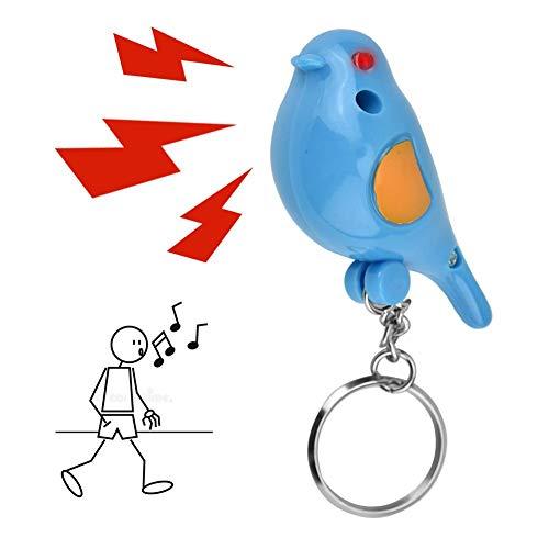 Whistle Key Finder Control de voz Llavero con forma de...