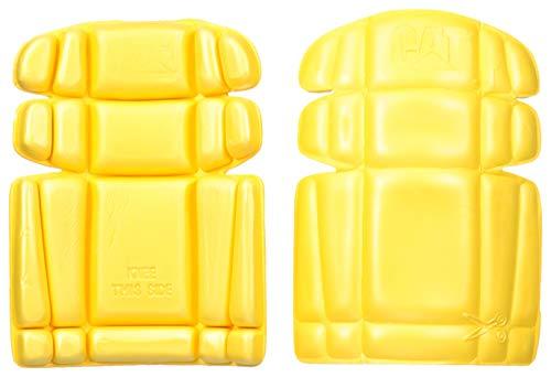 Caterpillar Knee Pads, Yellow, One Size