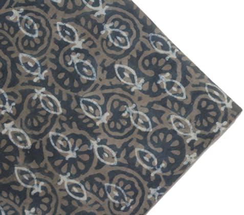 Handicraft 100% Manufacturer Memphis Mall regenerated product Cotton Floral Hand Block Print Quality Fine Fabr