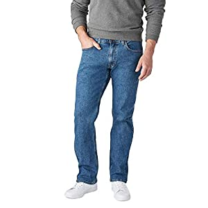 Signature by Levi Strauss & Co. Gold Label Men's Relaxed Fit Flex Jeans