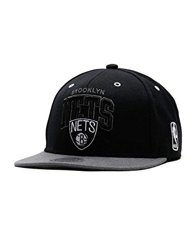 Mitchell & Ness Brooklyn Nets BGW2 - Zapatillas de deporte, color negro...