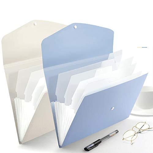 DXQDXQ Ordnungsmappe A4 Dokumentenmappe...