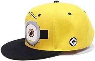 Childs cap kids hat Hip-hop Baseball Caps childs Despicable Me Minions Cap Snapback Hats