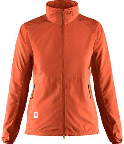 FJALLRAVEN Damen High Coast Lite Jacket W Jacken, Eberesche, rot, XS
