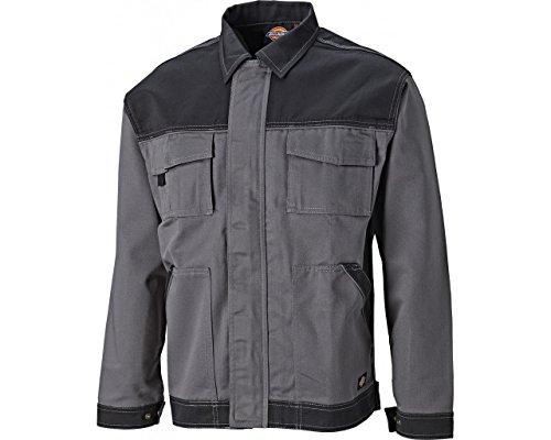 Dickies Industry 300 Bundjacke, robuste Arbeitsjacke mit Sturmleiste, inkl. Schlüsselkarabiner, viele Taschen, Dehnfalte im Rücken, Größe: S - XXXL, verschiedene Farben