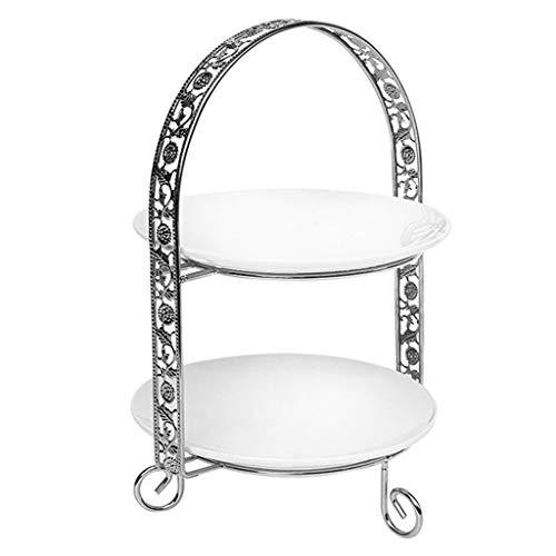 SHYPT Doppio Strato Metallo Cake Stand Arch-Shaped Display...