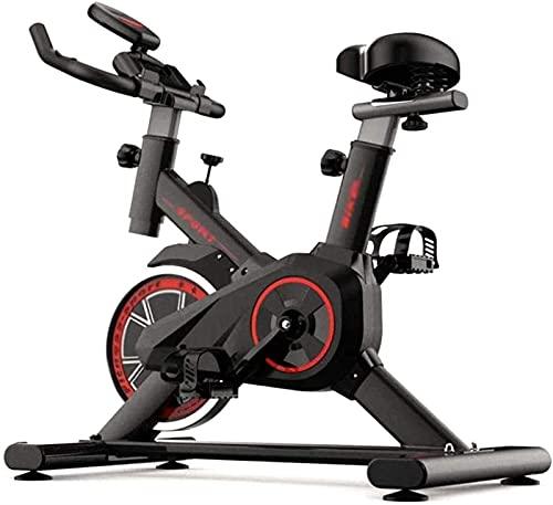 SONGYU Bicicleta estática Entrenador Abdominal Mudo Equipo Deportivo Bicicleta Fitness Cardiopulmonar Ideal Entrenador de Ejercicio aeróbico Bicicleta estática Vertical Estudio de Interior