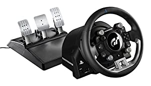 immagine di Thrustmaster T-GT (Volante incl. 3-Pedali, Force Feedback, 270° - 1080°, Eco-Sistema, Gran Turismo, PS4 / PC)