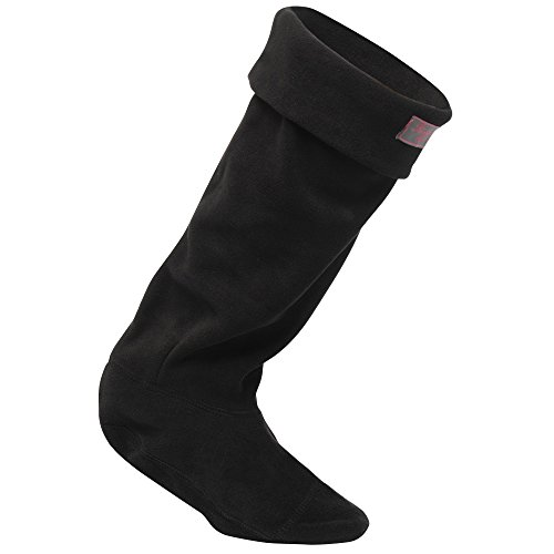 Regatta Great Outdoors Damen Fleece-Stiefelsocken (Medium) (Schwarz)