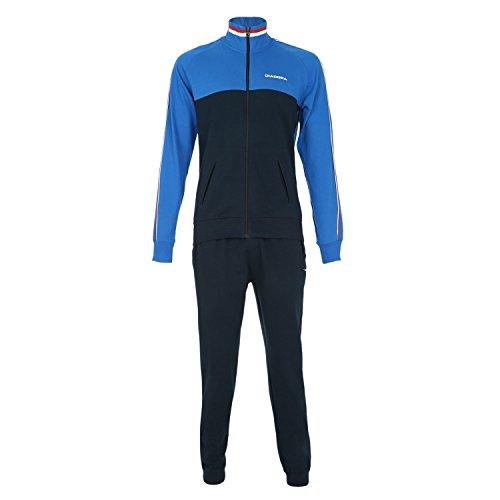 Diadora Tuta Sport Suit Cuff Hj Blu Royal/Blu Navy 3XL